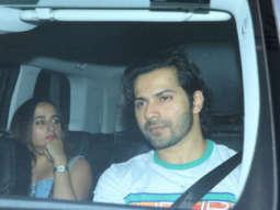Varun Dhawan with GF Natasha, Malaika Arora, Kritika Kamra and others Spotted @Soho House 22
