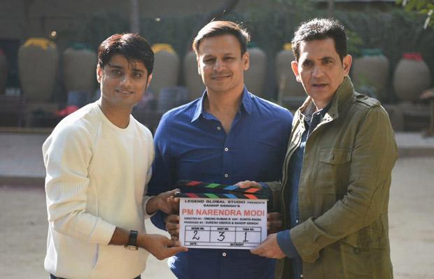 Vivek Oberoi And Omung Kumar Begin The Shooting Of 'pm Narendra Modi' In Ahmedabad