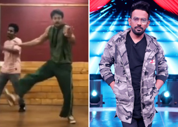 WATCH: Tiger Shroff RECREATES Dharmesh Yelande's audition from Dance India Dance
