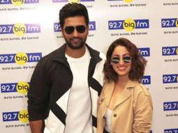 Yami Gautam & Vicky Kaushal promoting Movie URI at Big FM Office