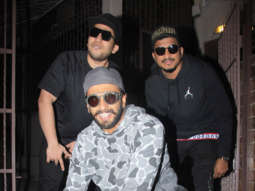 Zoya Akhtar reunites Ranveer Singh, Naezy and Divine for impromptu rap session!