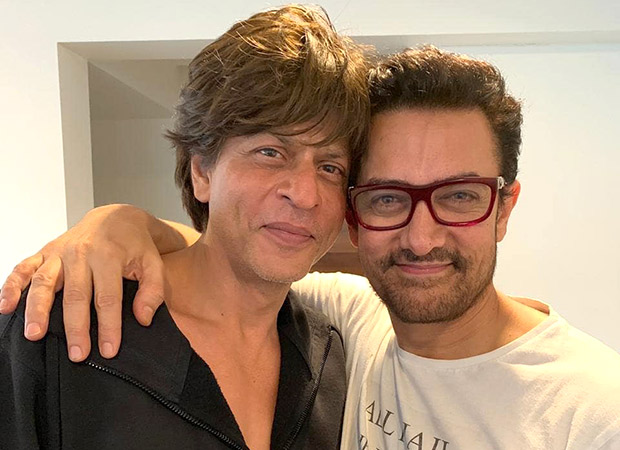 Aamir Khan recalls the time when Shah Rukh Khan bought him a laptop and it is hilarious!