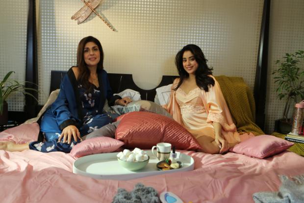 Janhvi Kapoor makes saucy revelations with Anaita Shroff Adajania on Feet Up with the Stars