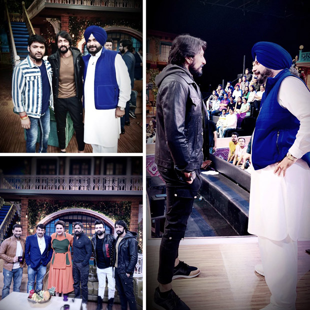 Kannada superstar Kichcha Sudeep visits The Kapil Sharma Show and the boys definitely had a great time!