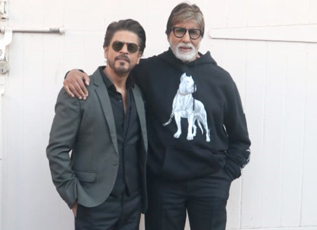 Finally! Shah Rukh Khan and Amitabh Bachchan share screen space for BADLA (Deets Out)