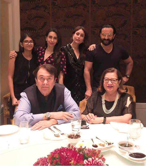 Inside Photos! Kareena Kapoor Khan, Saif Ali Khan, Karisma Kapoor And Family Come Together To Celebrate Randhir Kapoor's Birthday