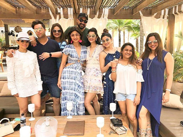 Shamita Shetty kicks off her birthday in Shamsters style in Phuket with friends and family