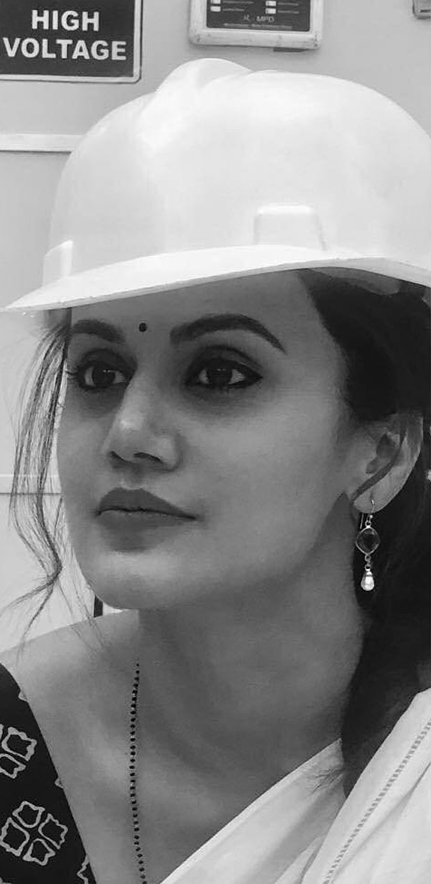 MISSION MANGAL: Taapsee Pannu wraps up shoot for the film; shares a still from sets