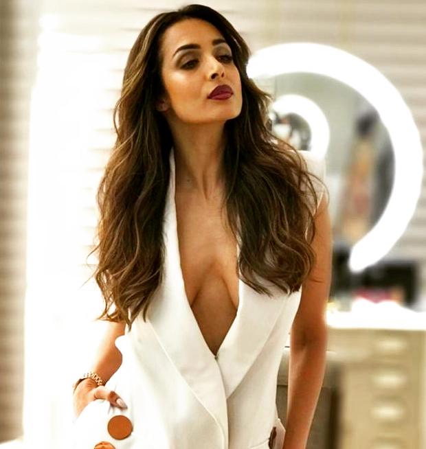 Malaika Arora in Nikhil Thampi blazer for Sophie Choudry's song launch (1)