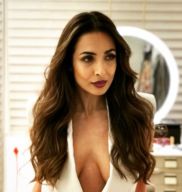 Malaika Arora in Nikhil Thampi blazer for Sophie Choudry's song launch (2)