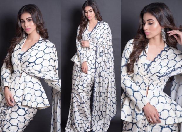 Best Dressed - Mouni Roy in Punit Balana saree for Dadasaheb Phalke Awards