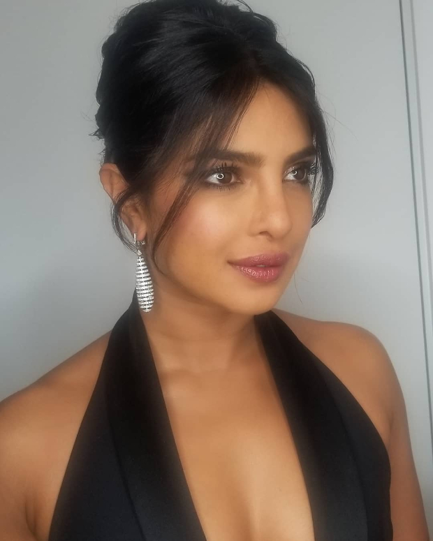 Priyanka Chopra in Elie Saab Haute Couture for Vanity Fair Oscar 2019 after party (3)