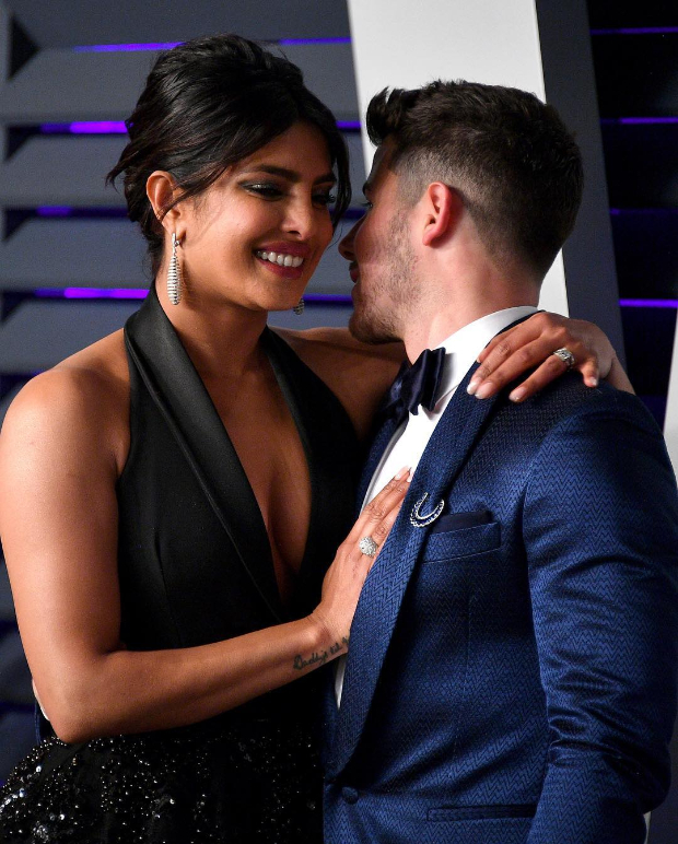 Priyanka Chopra in Elie Saab Haute Couture for Vanity Fair Oscar 2019 after party (6)