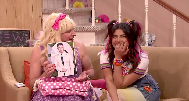 Priyanka Chopra joins Jimmy Fallon for EW! sketch and her character is totally into Nick Jonas
