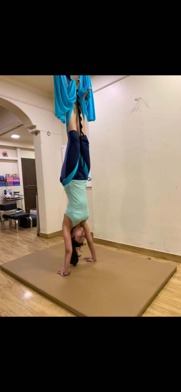 Rakul Preet Singh showcases her flexible aerial yoga moves and we are mighty IMPRESSED!