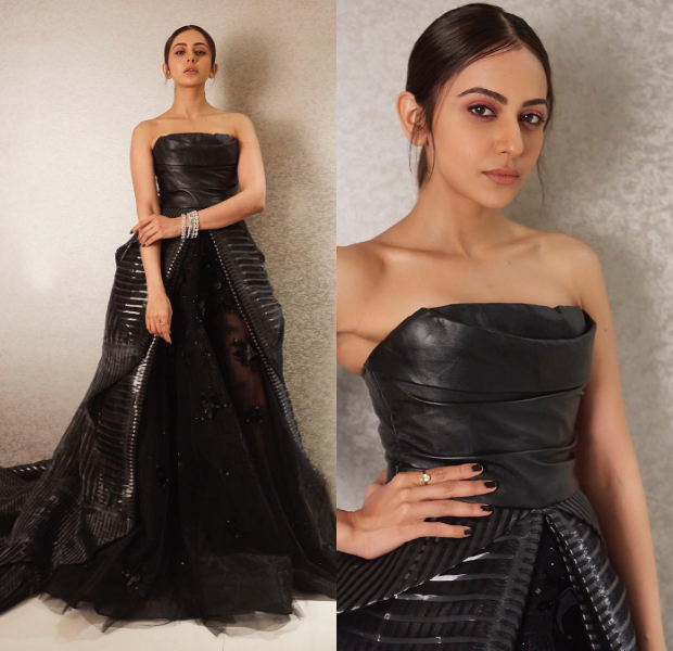 Rakul Preet Singh in Tony Ward Couture for Filmfare Glamour and Style Awards 2019