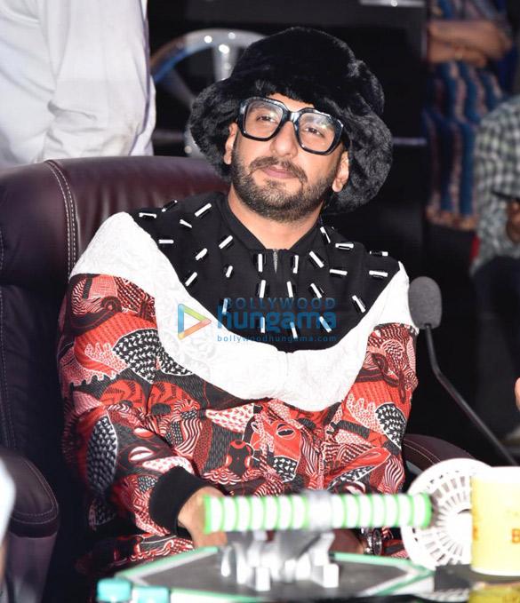 Ranveer Singh and Alia Bhatt promote Gully Boy on Super Dancer Chapter 3 (6)