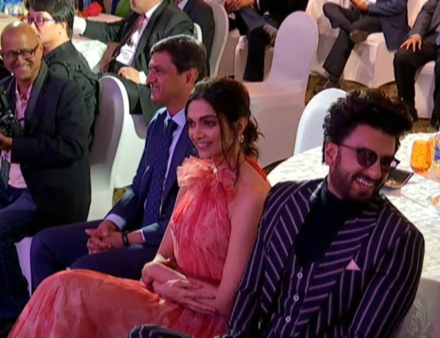 Deepika Padukone In Florals, Ranveer Singh In Stripes - Classy Meets Zany, Just Their Love Story