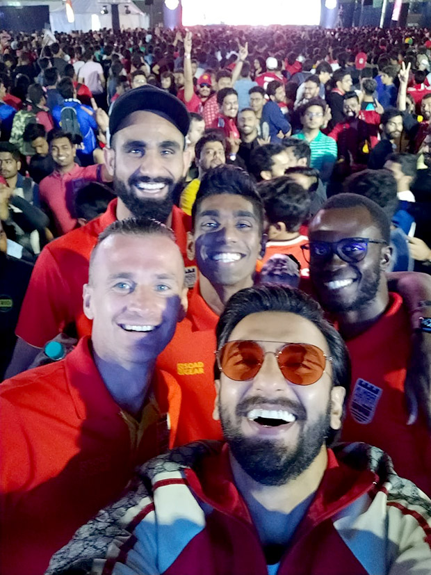 Ranveer Singh surprises fans at the Star Sports Select FC screening