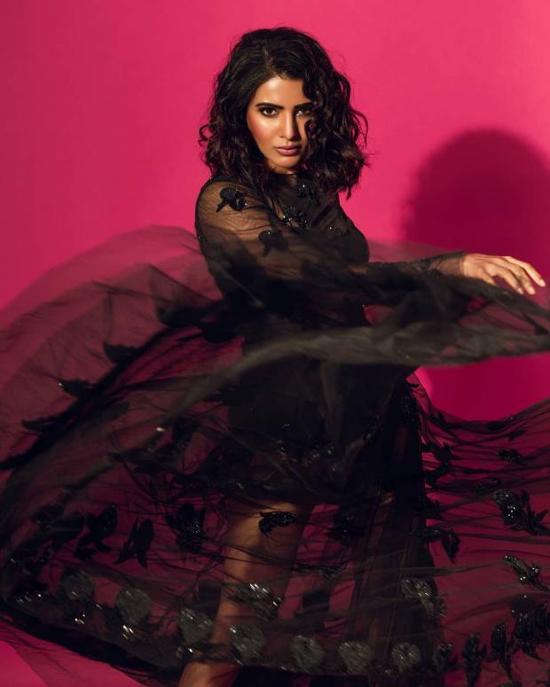 Samantha Akkineni in Sunaina Khera for a photoshoot (3)