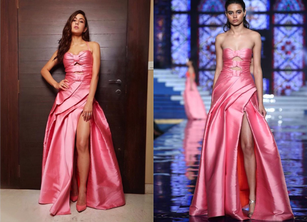 Sara Ali Khan in Monisha Jaising for Nykaa-Femina Beauty Awards 2019 (4)