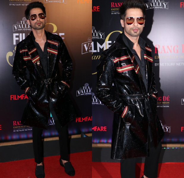 Shahid Kapoor in Trill for Filmfare Glamour and Style Awards 2019