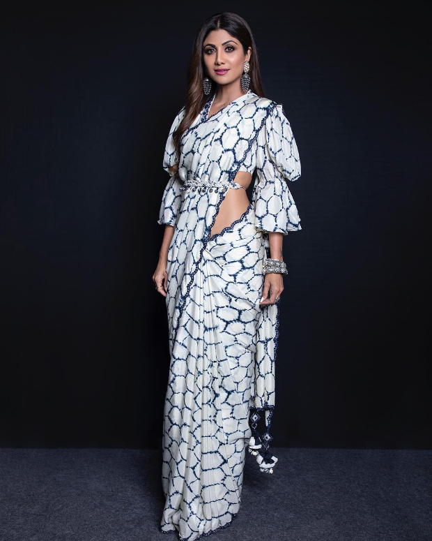 Shilpa Shetty Goes Desi Glam In A Punit Balana Saree, Her Style Is Just For Inr 30,000/-