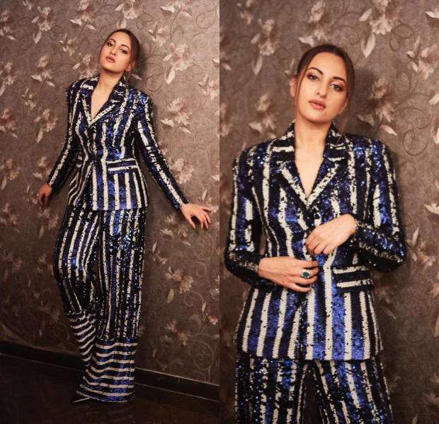 Sonakshi Sinha in Dhruv Kapoor for Filmfare Glamour and Style Awards 2019