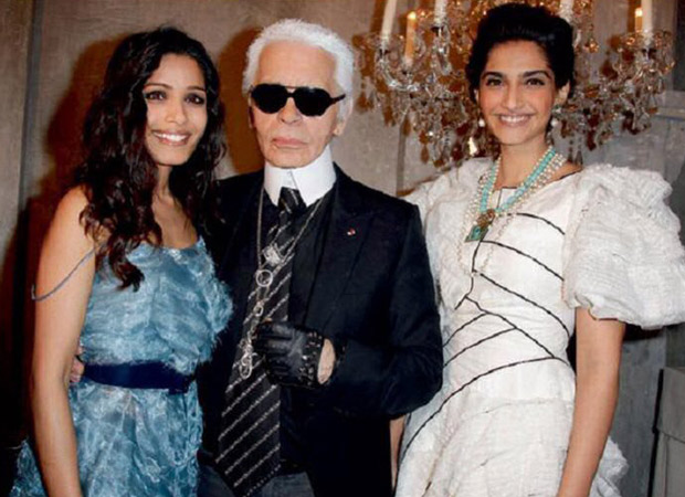 Sonam Kapoor's tribute to Karl Lagerfeld is heartfelt and heart breaking