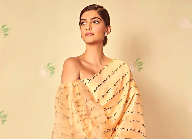 Sonam Kapoor Gets Called Out For Wearing A Print With Wrong Translation Of Tamil