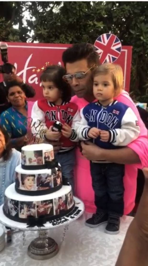 Varun Dhawan joins birthday celebrations of Karan Johar's twins Yash and Roohi