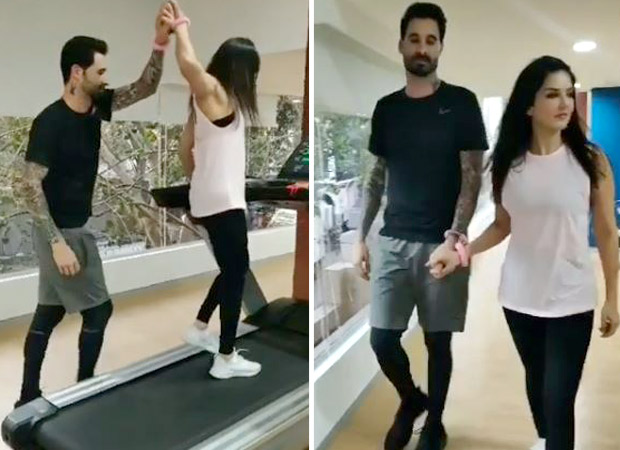 Watch: Sunny Leone Takes Up The Handcuff Challenge With Daniel Weber And The Actress Excels At It!