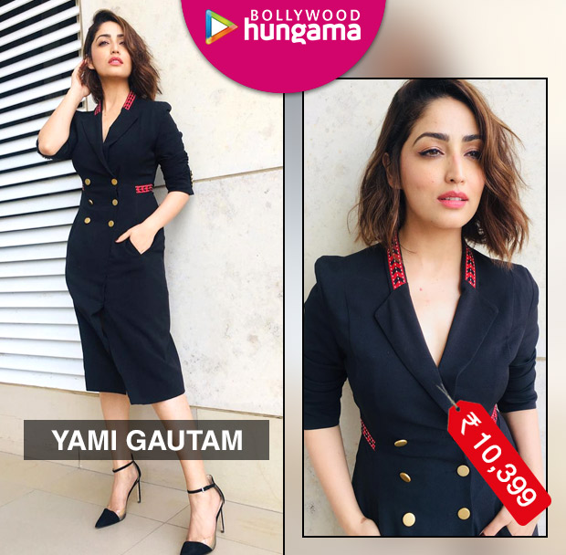 Yami Gautam in Genes trench dress for Uri interviews (3)