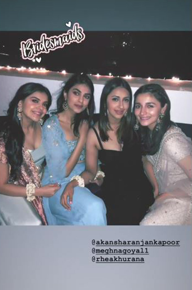 Alia Bhatt plays the perfect bridesmaid at her bestie's wedding and these Instagram posts are a PROOF!