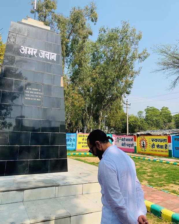 Pulwama Attacks: Saif Ali Khan Pays Tribute At Amar Jawan Jyoti And Expresses Grief Over The Loss Of Lives