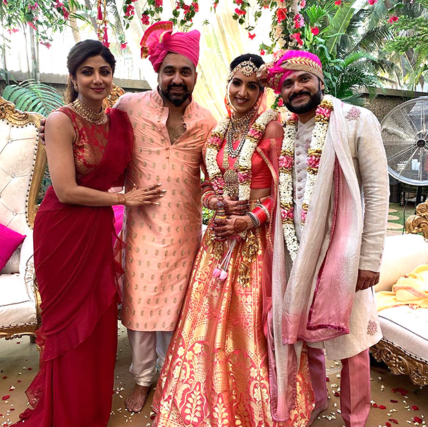 Shilpa Shetty Kundra has the most heartfelt note for her sister-in-law Reena Kundra on the day of her wedding!