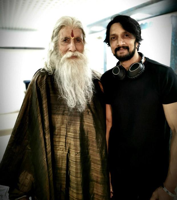 Sye Raa Narasimha Reddy - Kiccha Sudeep Is Excited To Share Screen Space With Amitabh Bachchan Again (see Pic)