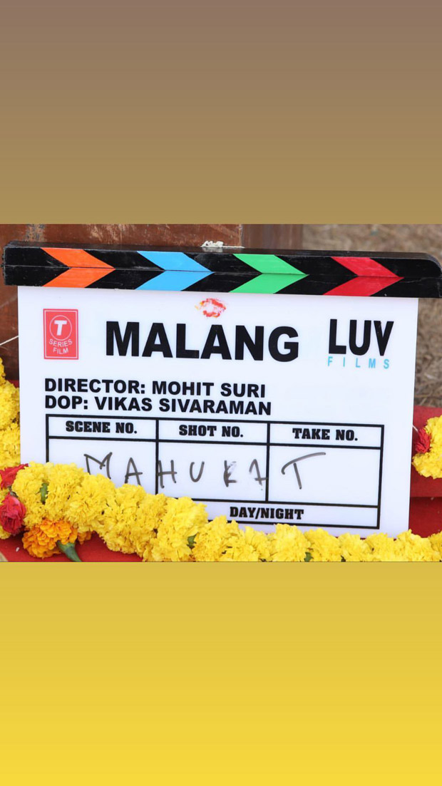 Aditya Roy Kapur and Mohit Suri commence Malang with a mahurat puja