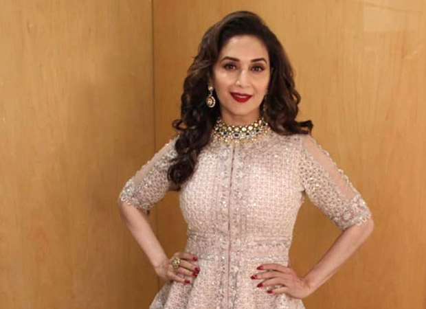 Akash Ambani – Shloka Mehta Wedding Madhuri Dixit redefines perfection with her elegant look