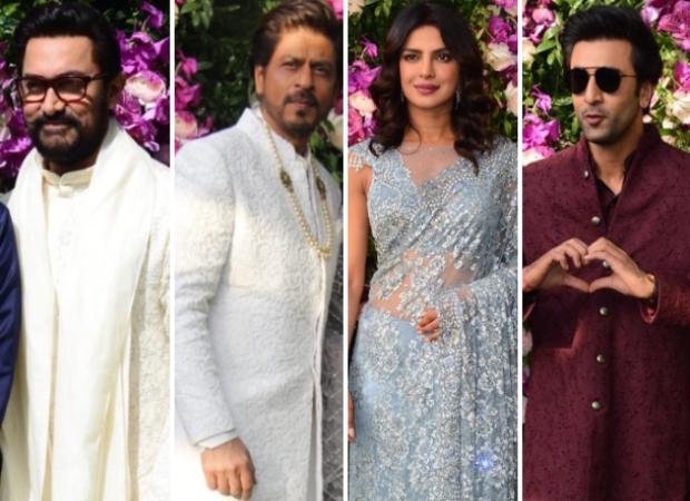 Akash Ambani – Shloka Mehta wedding: Aamir Khan, Shah Rukh Khan, Priyanka Chopra, Ranbir Kapoor arrive in style