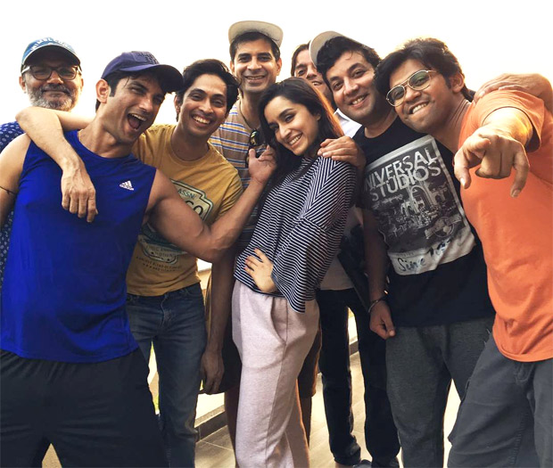 Chhichhore gang share photos from the sets of the Sushant Singh Rajput, Shraddha Kapoor starrer and it will remind you of your college days!