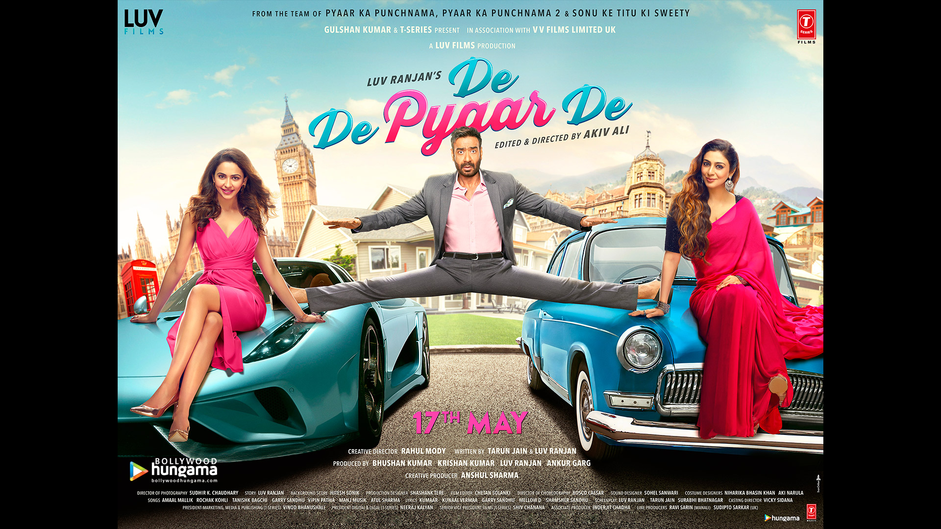 Movie Poster 2019: De De Pyaar De 2019 Wallpapers
