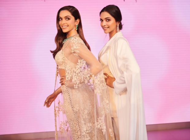 Deepika Padukone unveils her stunning Madame Tussauds wax statute in London Ranveer Singh accompanies her