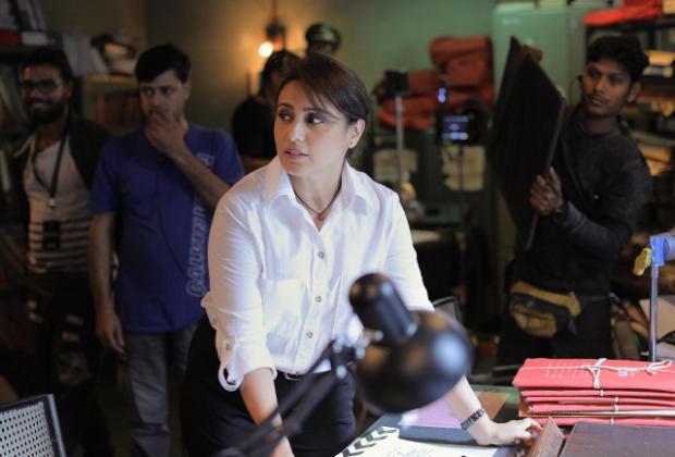 FIRST LOOK: Rani Mukerji begins shooting for Mardaani 2!