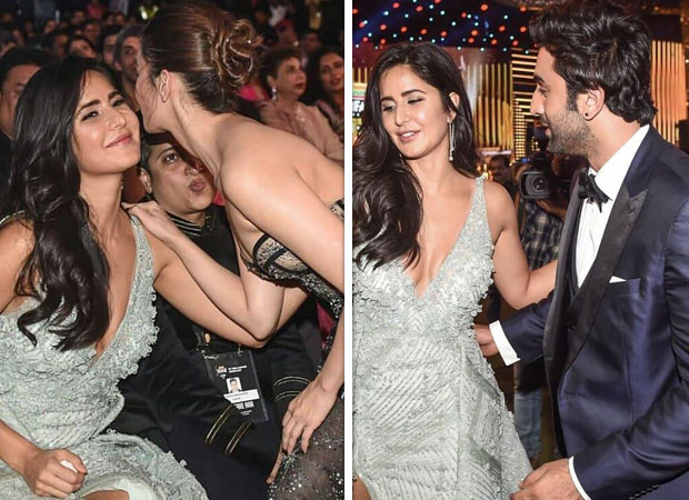 Filmfare Awards 2019: Ranbir Kapoor And Alia Bhatt's 'friendly & Comfy' Vibes With Ex Katrina Kaif Decoded In Just 7 Pictures