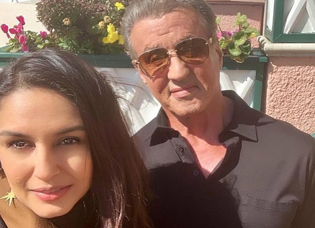 Huma Qureshi casually bumps into Sylvester Stallone over lunch and we're cursing our luck