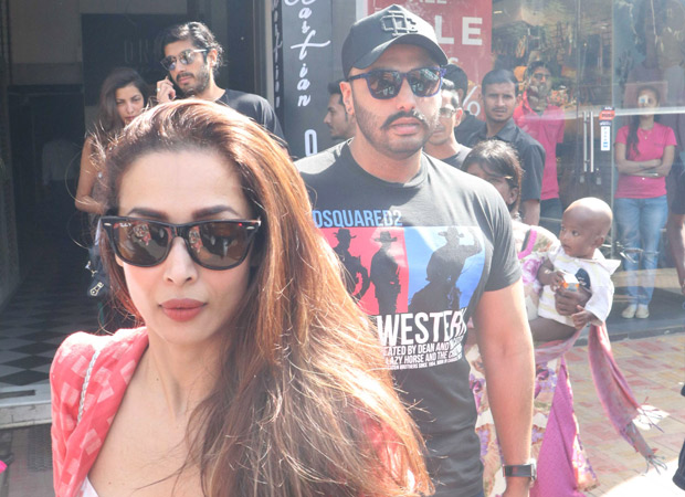 Spotted: Arjun Kapoor and Malaika Arora on a lunch date in Bandra