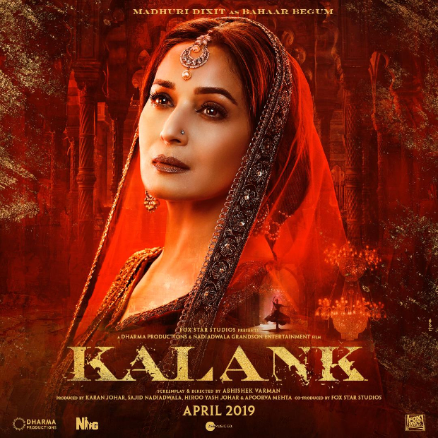 KALANK: Alia Bhatt, Sonakshi Sinha and Madhuri Dixit are ENCHANTING BEAUTIES in these ethereal posters