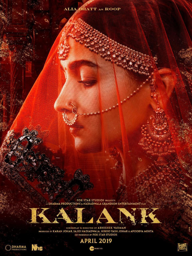KALANK: Alia Bhatt is an ETHEREAL BEAUTY as Roop in this drop dead gorgeous look