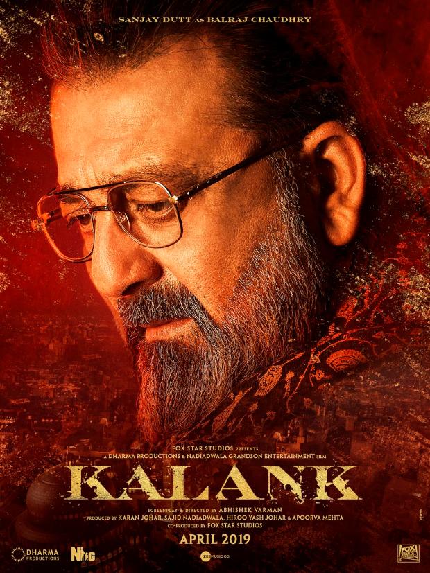 KALANK: Ferocious Varun Dhawan, compassionate Aditya Roy Kapur and formidable Sanjay Dutt make a power trio in these fierce posters